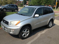 2001 Toyota RAV4 SUV Limited All Wheel Drive Great Condition!!!!
