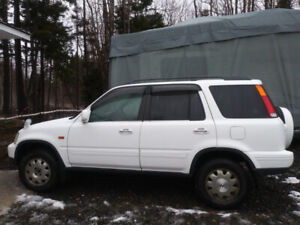 1998 honda crv right hand drive great for mail or flyer delivery
