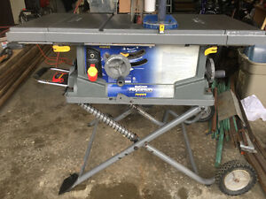 "10"" Mastercraft Maximum Table Saw"