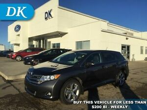 2013 Toyota Venza AWD V6 w/Leather, Bluetooth, and Much More!