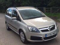 Vauxhall Zafira petrol auto 1 former lady owner