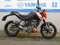 KTM 125 DUKE ORANGE/BLACK