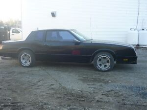 87 monte carlo ss rolling chasis no moter or tranny