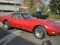 1979 red Corvette coupe