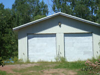 Property with mechanic work shop and house