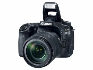 BRAND NEW CANON EOS 80D WITH 18-135MM LENS KIT