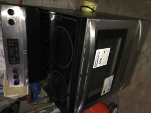 Flat top electric stove for sale
