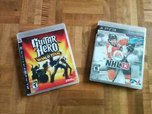 2 jeux de PlayStation 3 W
