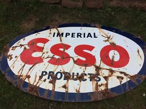 Imperial esso products sign