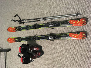 Down hill ski package