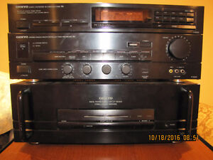 Onkyo power amp and pre amp and tuner West Island Greater Montréal image 3
