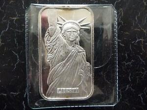 Engelhard MTB Liberty Trade Silver 1 oz .999 fine silver art bar