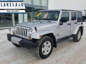 2012 Jeep Wrangler Unlimited Sahara  Premium Sound Package - Sid