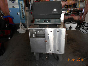 STAINLESS STEEL HOT DOG CART FOR SALE