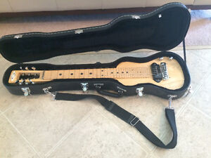 SX Lap Steel Slide Guitar - With Hard Case and Stand - Mint
