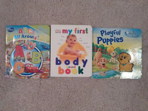 3 books for babies/toddlers