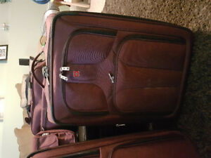 Swiss Army 5pc luggage set