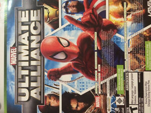 Great Xbox 360 games H.A.W.K and Madden and Marvels ultimate all