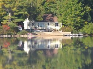 Cottage Rental on Beautiful Trout Lake in Annapolis Valley NS