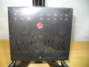"""Andrew Lloyd Webber -""""The Music,The Magic"""" 3CD's NEW"""