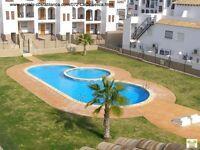 Costa Blanca, 2 bed, South facing, 1st floor apt, Air con, WI-FI, English TV, Communal pool (SM072