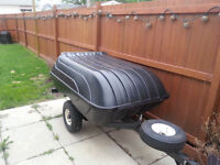 Motorcycle Trailer - Great for hauling camping gear to Sturgis