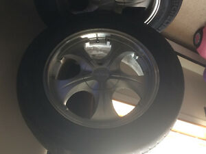 "Aluminum 18"" Falken universal fit set of 4"