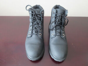 Timberland 6 inch waterproof leather boots, size 5Y