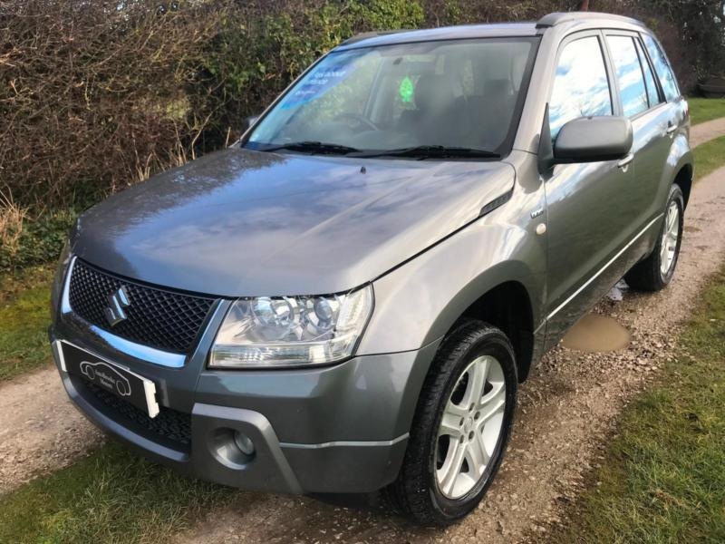 2006 56 suzuki grand vitara 1 9ddis diesel 4x4 4wd lady owner from new low miles in holywell. Black Bedroom Furniture Sets. Home Design Ideas