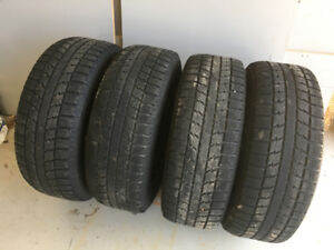Winter Tires with Rims: 205/65R15