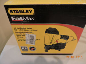 STANLEY FAT MAX COIL ROOFING NAILER