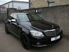 "07 57 MERCEDES C200 CDI 2.2 TURBO DIESEL ELEGANCE AUTO HEATED LEATHER 18"" ALLOYS"
