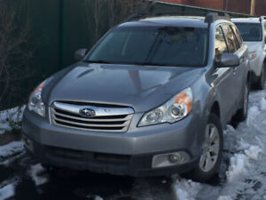 Subaru Outback 2010 version limited 137000 km