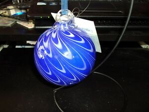 GLASS FRIENDSHIP GLOBE WITH STAND