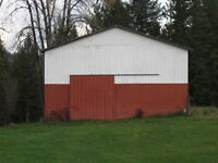 Pole Shed/Hay Shed to be dismantled and moved  SOLD