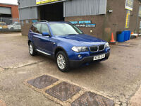 2006 56 BMW X3 2.0d SE TURBO DIESEL,109000 MILES WITH FULL SERVICE HISTORY