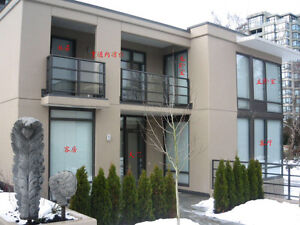 Newer 3-bed 3 bath townhouse in Richmond center near sky train