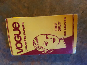 VOGUE CIGARETTE ROLLING PAPERS