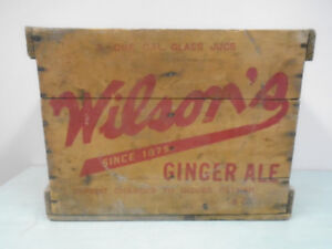 Vintage Wooden Soda Crate Home Storage