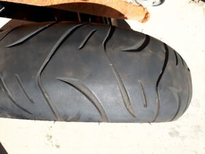 For sale one front rim and f/r  tires off a 2006 stratoliner