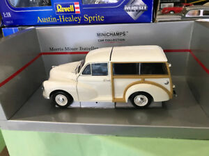 Morris Minor Traveller 1960 Minichamps diecast 1/18 die cast