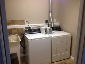 Coin operated Washer and Dryer set - Electric