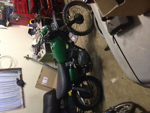 1972 honda xl 250 project