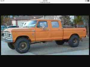 Looking for a 1973-1979 Ford 4 door short box 4x4