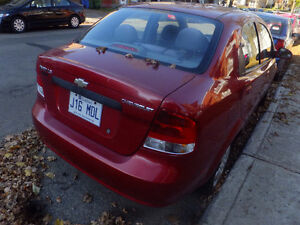 2005 Chevrolet Aveo .1 Base Berline