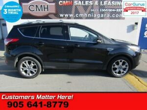 2015 Ford Escape Titanium  4WD NAV LEATHER ROOF HS PWR GATE 2X-P