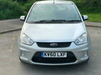 2010 Silver Cmax 1.6 TDCI Zetec Family Car! Immaculate FSH Cheap Quality Motor