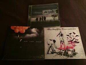 CD Bundle: Our Lady Peace, Three Days Grace and Default