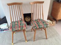 2 x Ercol style chairs