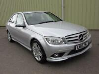 2010 10 MERCEDES-BENZ C CLASS 3.0 C350 CDI BLUEEFFICIENCY SPORT 4DR DIESEL